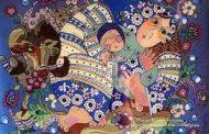 نقاشی پشت شیشه،  زایشی  در جامعه ی مدرن  . عباس موذن