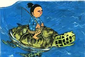 اوراشیما تارو . قصه عامیانه  ژاپنی ... از دریا صدای غمانگیز پرنسس برآمد که گفت: به تو گفته بودم در جعبه را باز نکن که محتوای آن پیری تو بود.